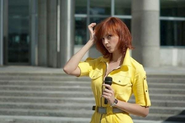 Cosplay April O'Neil, chicas disfrazadas de la reportera de las Tortugas Ninja 3