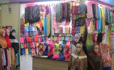 Toko Jilbab di Makasar