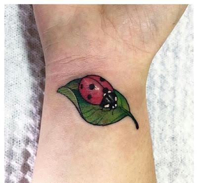 Cute Ladybug Tattoo