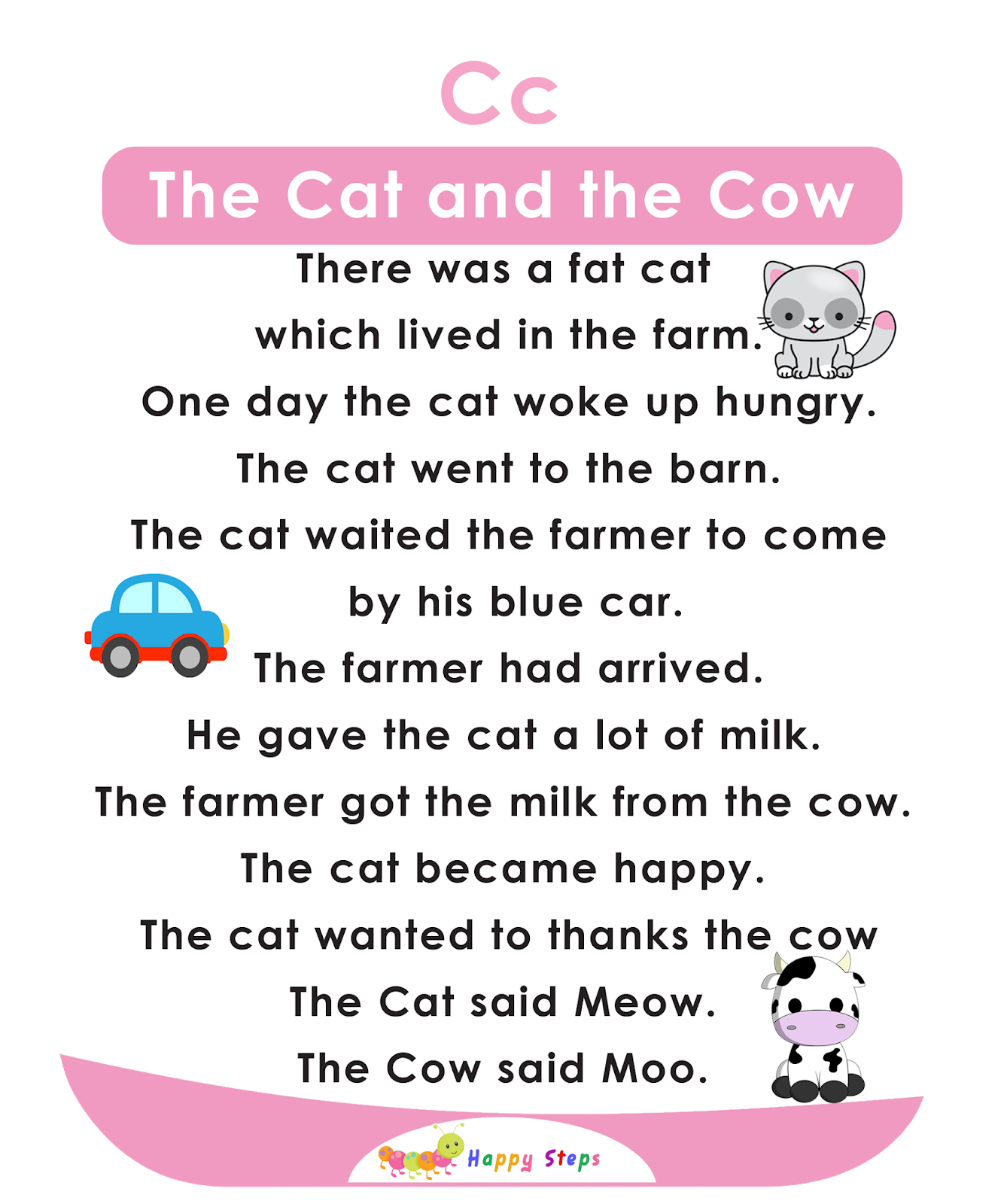 The Cat And The Cow Alphabet Stories
