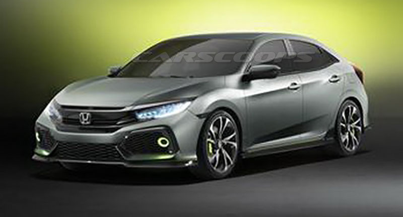 2017 - [Honda] Civic Hatchback [X] - Page 3 Honda-Civic-Concept-Hatch-2