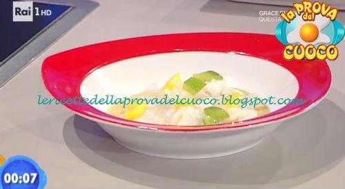 Zuppetta di ceci con carpaccio di baccalà ricetta Improta da Prova del Cuoco