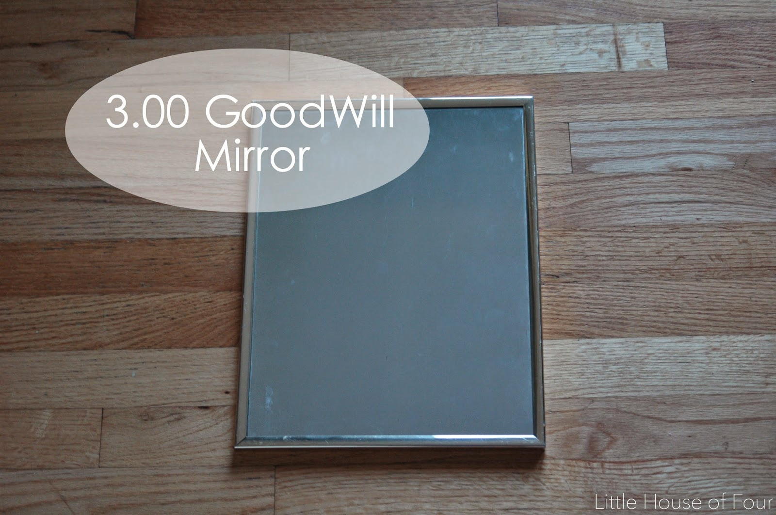 Goodwill Mirror used for mirror effect