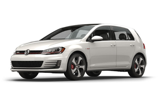 2016 Volkswagen Golf GTI white
