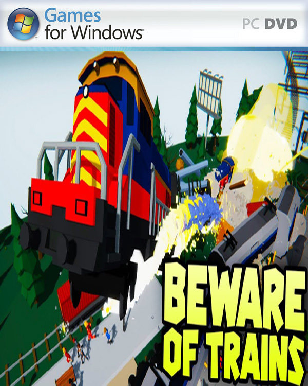 Beware of Trains PC Cover