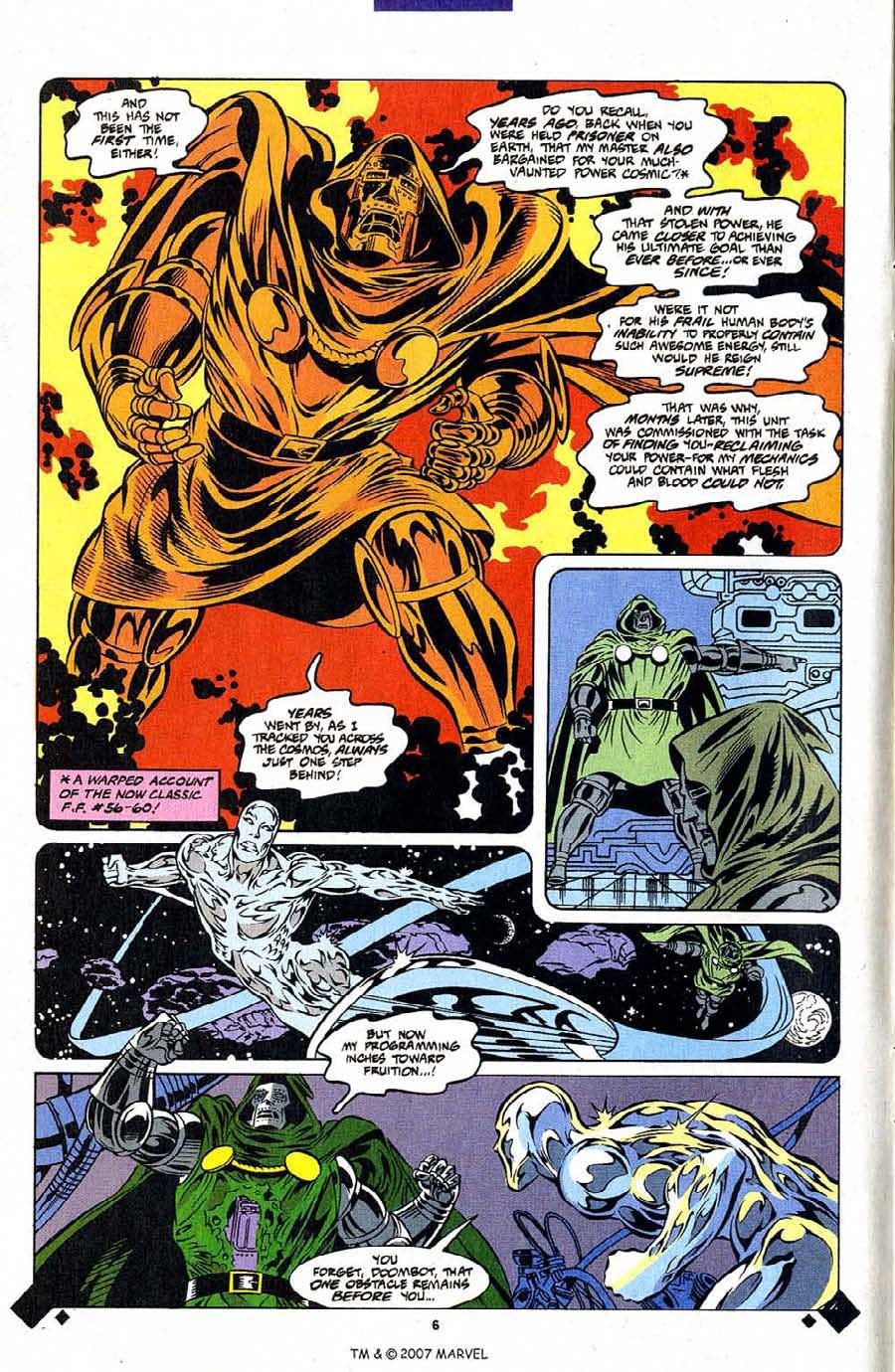 Read online Silver Surfer (1987) comic -  Issue #107 - 8