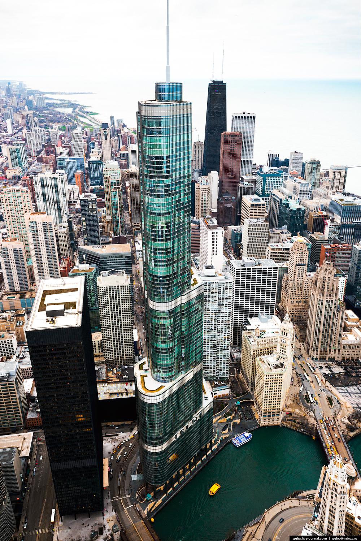 Обои небоскребы, мичиган, chicago, чикаго, иллиноис. Города foto 11