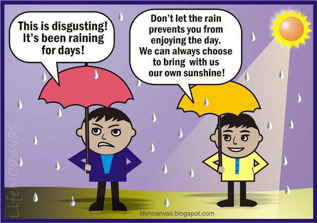 rainy day, pinoy comics strip