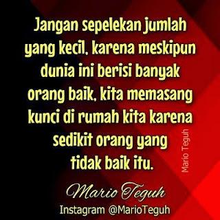 Kata-kata Bijak Mario Teguh