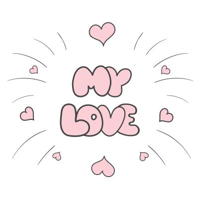 My Love Symbols Emoticons
