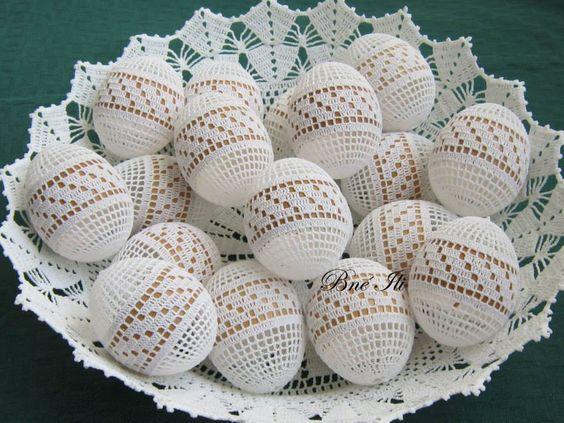 jajka w koronce filet wzory