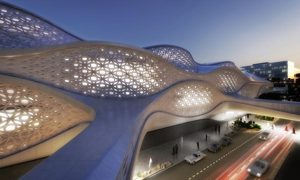 space architecture by zaha hadid