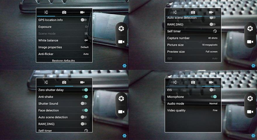 Kata M4s Camera Interface