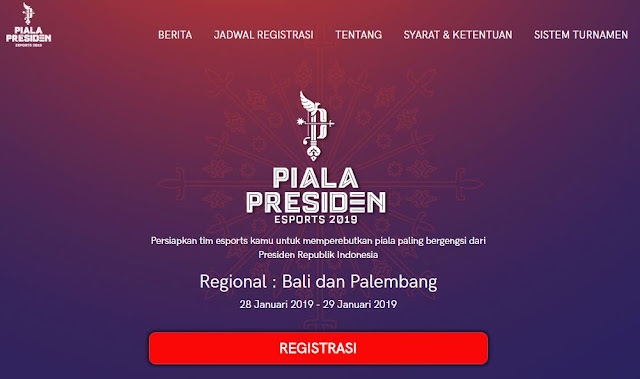 Jadwal Piala Presiden Mobile Legends
