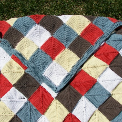 Cotton-Ease Baby Blanket - Free Pattern