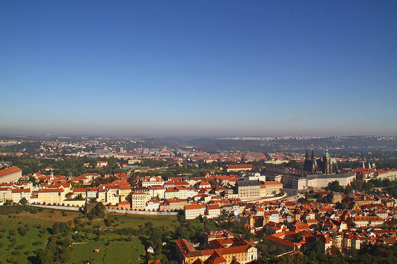 Petrin Lookout Tower in Prague 3