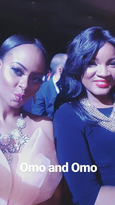 Omowunmi Akinnifesi Share Cute Selfies With Actress Omotola Jalade