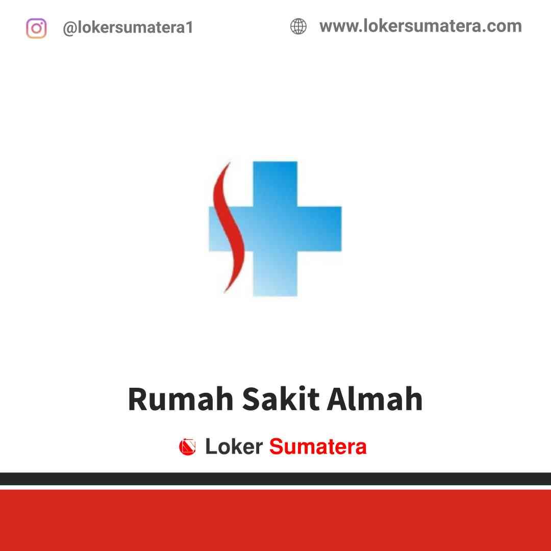 Lowongan Kerja Bangka Belitung, Rumah Sakit Almah Juli 2021