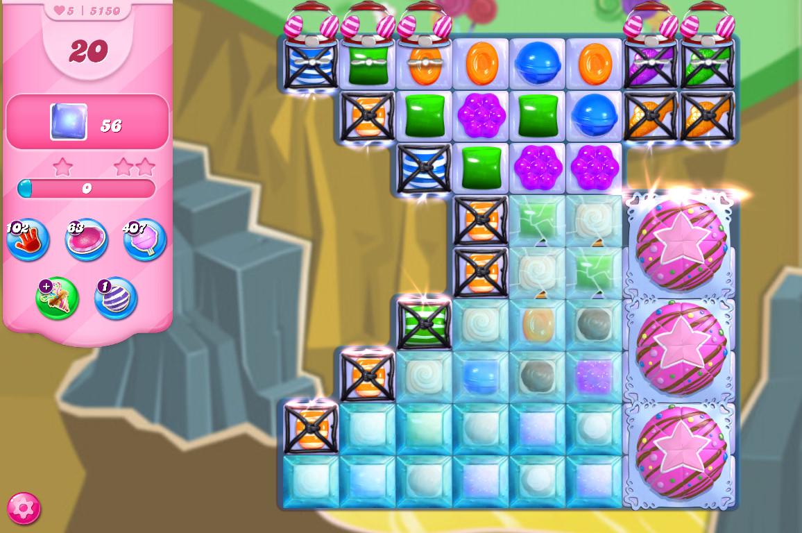 Candy Crush Saga level 5150