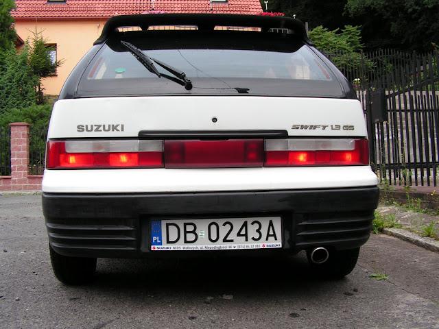 Suzuki Swift MK3, 1.3 GS, staryjaponiec