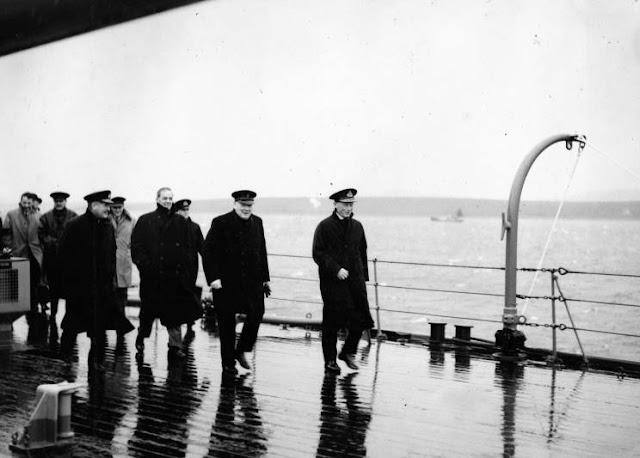 15 January 1941 worldwartwo.filminspector.com HMS King George V Churchill Tovey Fraser