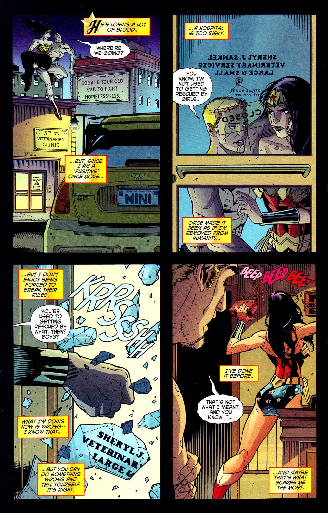 Read online Wonder Woman (2006) comic -  Issue #7 - 10