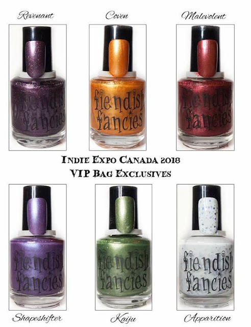 Fiendish Fancies Indie Expo Exclusive nail polish