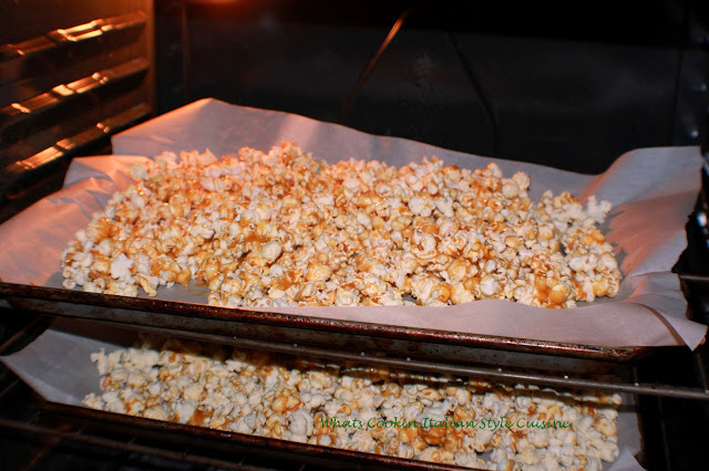 how to make homemade baked caramel corn