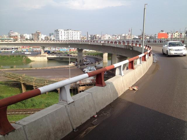 Kuril flyover Dhaka Bangladesh