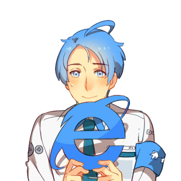 Wstydliwy Internet Explorer