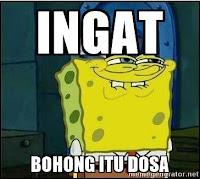 spongebob bohong