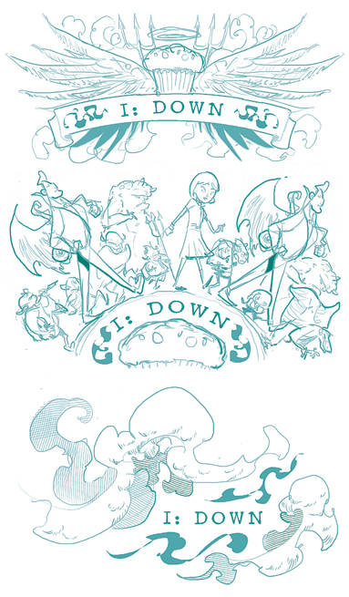 chapter header roughs