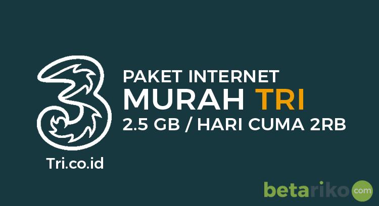 Paket Data Internet Tri 2.5GB Rp 2000 Hilang? Coba Cara Berikut, Untuk Aktivasi Kembali