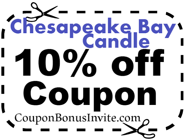 Chesapeake Bay Candle Promo Codes, Coupons & Cashback July, Aug, Sep, Oct, Nov, Dec 2017-2018