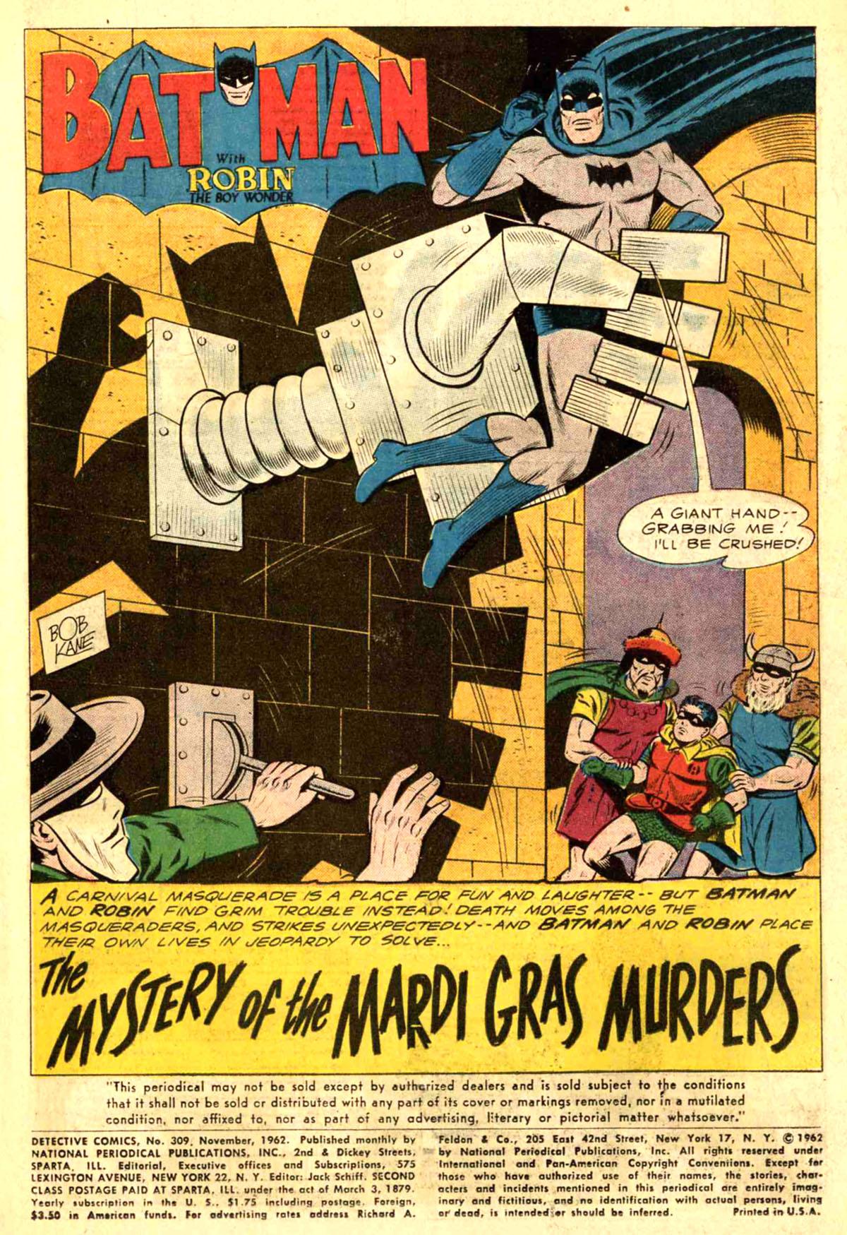 Detective Comics (1937) 309 Page 2