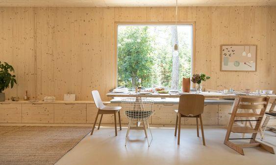 Beaune / Une maison en bois baignée de lumière /