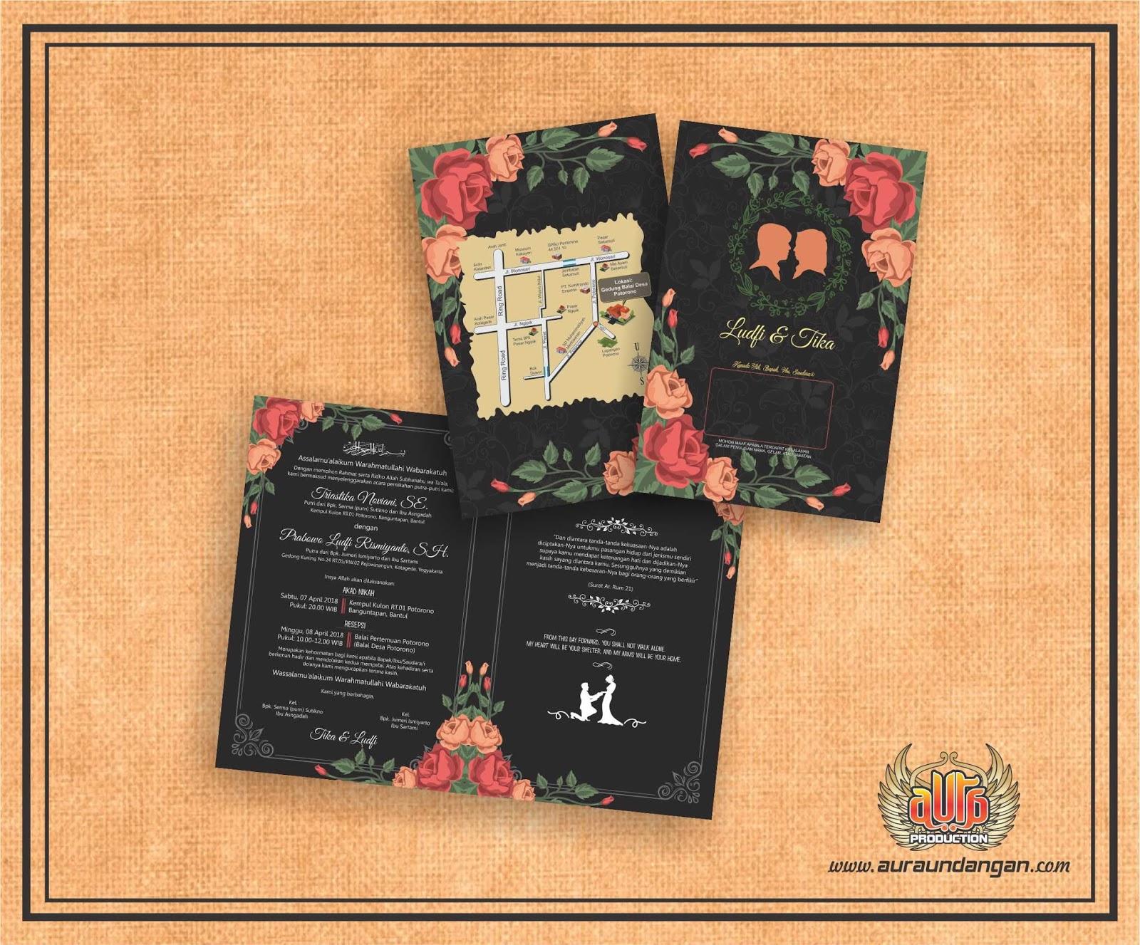 Undangan Dan Souvenir Murah Di Jogja Aura Production Umahkertas Pernikahan Kuning Free Tambahan Maksimal 5 Pcs