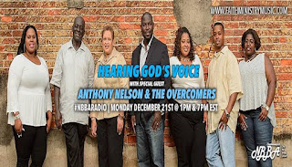 Radio Interview with Anthony Nelson & The Overcomers