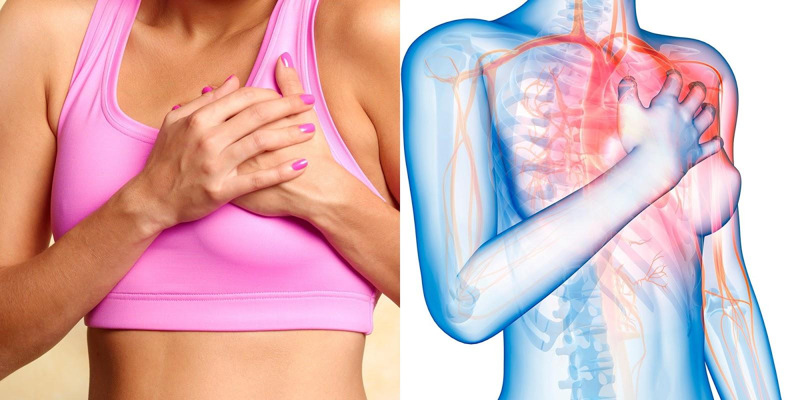 7 Precursor Symptoms Of Heart Attack That Women Often Ignore