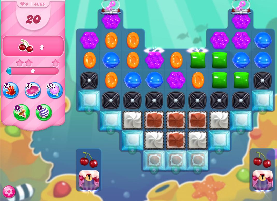 Candy Crush Saga level 4665