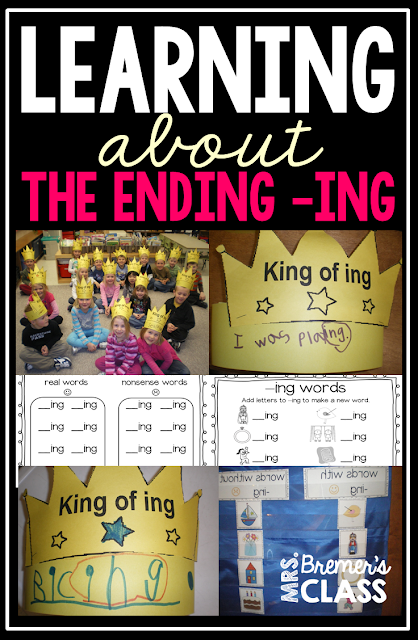 Learning about the ending -ING