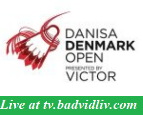 Denmark Open 2018 live streaming