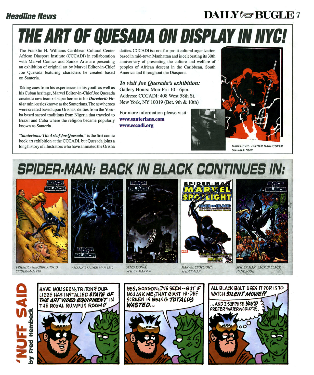 Read online Daily Bugle (2006) comic -  Issue #6 - 8