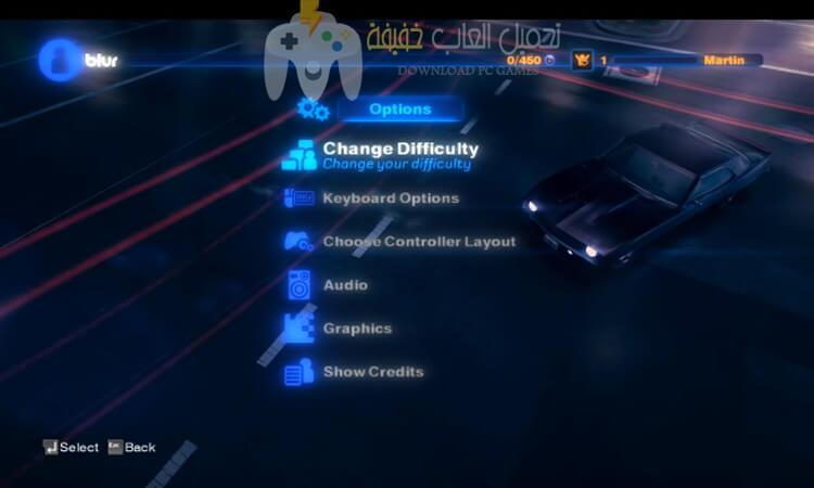 تحميل لعبة Blur للكمبيوتر مضغوطة برابط مباشر