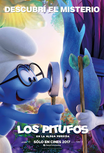 Smurfs: The Lost Village (BRRip 1080p Dual Latino / Ingles) (2017)