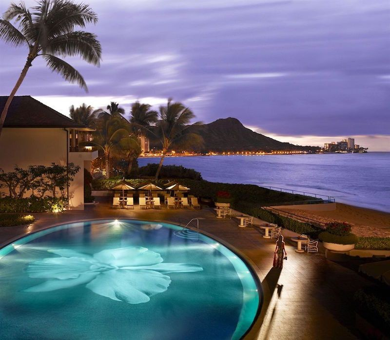 10 Of The Most Beautiful Hotels In America That Deserve A Spot On Your Travel Bucket List - Halekulani, Oahu Island