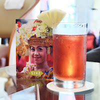 refreshing welcome drink with genuine Balinese smile