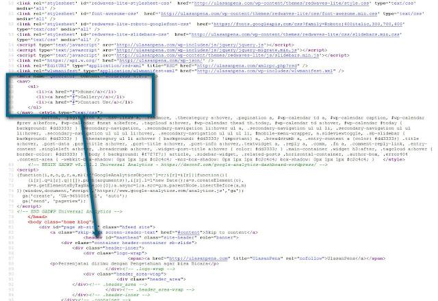 Webjalanan kesalahan letak code