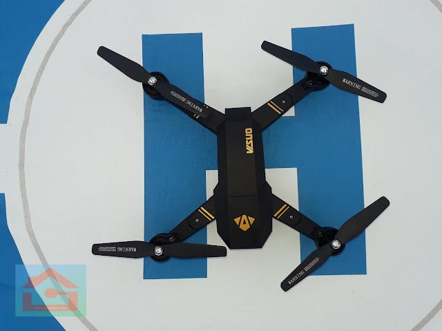 Kelebihan dan Kekurangan Drone Visuo XS809