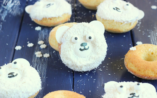 Tür Nr. 7: Eisbär-Donuts beim Foodblogger Adventskalender [Give Away]